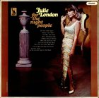 JULIE LONDON For the Night People album cover