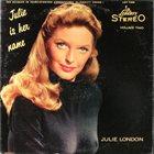 JULIE LONDON Julie Is Her Name, Volume 2 album cover
