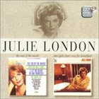 JULIE LONDON The End of the World / Nice Girls Don't Stay for Breakfast album cover