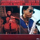 JULIUS HEMPHILL Live In New York album cover