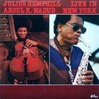 JULIUS HEMPHILL Live In New York album cover