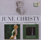JUNE CHRISTY Ballads for Night People & Intimate Miss Christy album cover