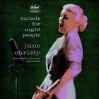 JUNE CHRISTY Ballads for Night People album cover