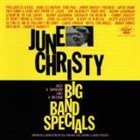 JUNE CHRISTY Big Band Specials album cover