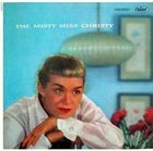 JUNE CHRISTY The Misty Miss Christy album cover