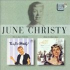 JUNE CHRISTY This Is June Christy! / June Christy Recalls Those Kenton Days album cover