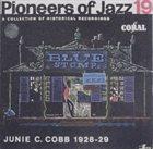 JUNIE C COBB Pioneers of Jazz, 19 - Junie C. Cobb 1928-29 album cover