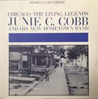 JUNIE C COBB The Living Legends album cover