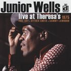 JUNIOR WELLS Live At Theresa's 1975 album cover