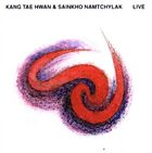 KANG TAE HWAN Live (with Sainkho Namtchylak) album cover