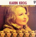 KARIN KROG Different Days, Different Ways album cover