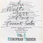 KARL BERGER Karl Berger, Karin Krog, Albert Mangelsdorff, Zbigniew Seifert, François Jeanneau, Enrico Rava With Jazz Live Trio : European Trends album cover