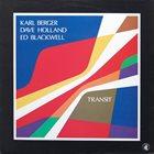 KARL BERGER Transit album cover