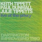 KEITH AND JULIE TIPPETT Live at the Priory album cover