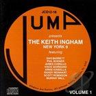 KEITH INGHAM The Keith Ingham New York 9, Vol. 1 album cover