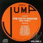KEITH INGHAM The Keith Ingham New York 9, Vol. 2 album cover