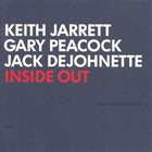 KEITH JARRETT Inside Out (with Gary Peacock and Jack DeJohnette) Album Cover