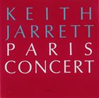 KEITH JARRETT Paris Concert Album Cover