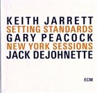 KEITH JARRETT Setting Standards: New York Sessions album cover