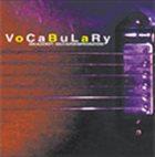 KEN ALDCROFT Vocabulary: Solo Guitar Improvisations album cover