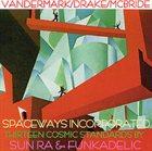 KEN VANDERMARK Thirteen Cosmic Standards by Sun Ra & Funkadelic album cover