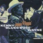"""KENNY """"BLUES BOSS"""" WAYNE Jumpin' & Boppin' album cover"""