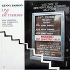 KENNY BARRON Live at Fat Tuesdays album cover
