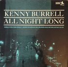 KENNY BURRELL All Night Long album cover