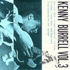 KENNY BURRELL Kenny Burrell Vol.3 album cover