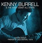 KENNY BURRELL Laguna Beach Friends Of Jazz Festival 1979 album cover