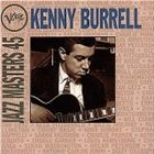 KENNY BURRELL Verve Jazz Masters 45 album cover