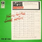 KENNY CLARKE Music For The Small Hours album cover