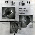 KENNY CLARKE The Trio album cover