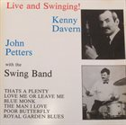 KENNY DAVERN Kenny Davern, John Petters With The Swing Band : Live And Swinging! album cover
