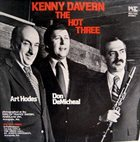 KENNY DAVERN The Hot Three album cover