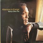 KENNY DREW Afternoon In Europe album cover