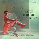 KENNY DREW I Love Jerome Kern album cover