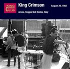 KING CRIMSON August 29, 1982 - Arena, Reggio Nell Emilia, Italy album cover