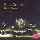 KING CRIMSON Live In Warsaw, June 11, 2000 (KCCC 28) album cover