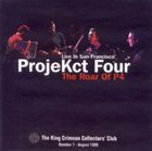KING CRIMSON ProjeKct Four Live in San Francisco 1998 (KCCC 7) album cover