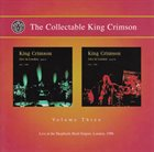 KING CRIMSON The Collectable King Crimson Volume 3 album cover