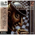 KING CRIMSON The Great Deceiver 2: Live 1973-1974 album cover