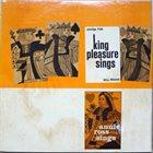 KING PLEASURE King Pleasure Sings/Annie Ross Sings album cover