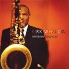 KIRK WHALUM Romance Language album cover