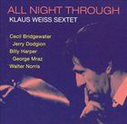 KLAUS WEISS All Night Through album cover