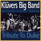 KLÜVERS BIG BAND Tribute To Duke album cover