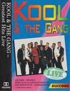 KOOL & THE GANG Greatest Hits Live (aka Get Down On It aka Too Hot! The Live Hits Experience) album cover