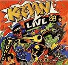 KRAAN Live 1988 album cover
