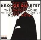 KRONOS QUARTET Kronos Quartet Plays Music of Thelonious Monk album cover