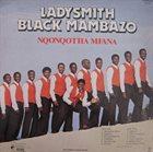 LADYSMITH BLACK MAMBAZO Nqonqotha Mfana album cover